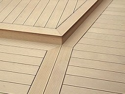 Composite decking patios terraces pool areas character chesterfield - Suitable materials for decking ...